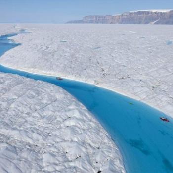 Fonte exceptionnelle des glaces au Groenland ?