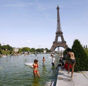 Fortes chaleurs en France fin juillet 2012