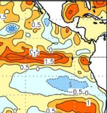 Démarrage d'un nouvel épisode El Niño